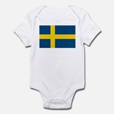 Sweden Flag Infant Creeper