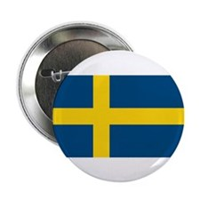 "Sweden Flag 2.25"" Button (10 pack)"