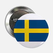 "Sweden Flag 2.25"" Button (10 pack)"