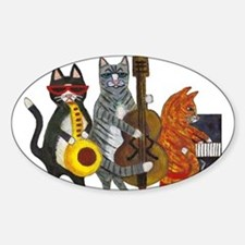 Jazz Cats Decal