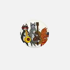 Jazz Cats Mini Button