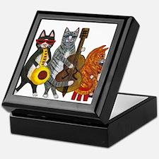 Jazz Cats Keepsake Box