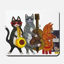 Jazz Cats Mousepad