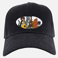 Jazz Cats Baseball Hat