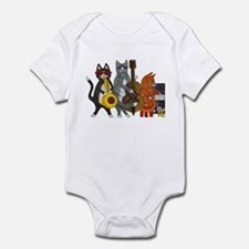 Jazz Cats Infant Bodysuit