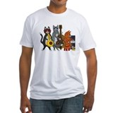 Cats Fitted Light T-Shirts