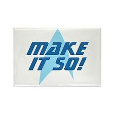 Star Trek: Make It So! Rectangle Magnet