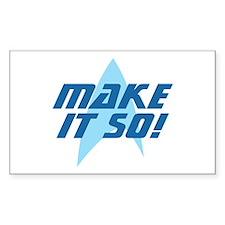 Star Trek: Make It So! Decal