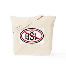 Stop Breed Specific Legislation (BSL) Tote Bag