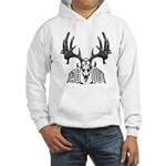 Whitetail deer,tag out Hooded Sweatshirt