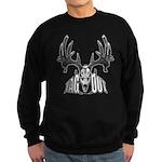 Whitetail deer,tag out Sweatshirt (dark)