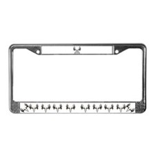 Whitetail deer,tag out License Plate Frame