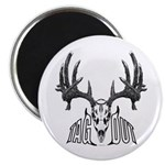 Whitetail deer,tag out Magnet