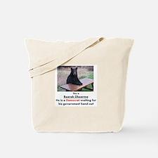 Cool 2012meterantiobama Tote Bag