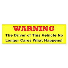 Customized Bumper Sticker