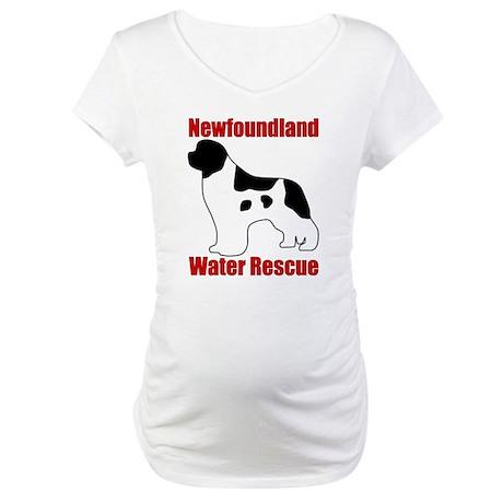 Landseer Water Rescue Maternity T-Shirt