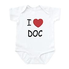 I heart doc Infant Bodysuit