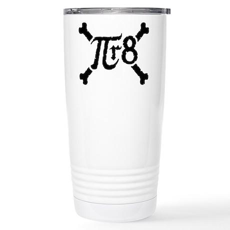 Pi-r-8 Stainless Steel Travel Mug