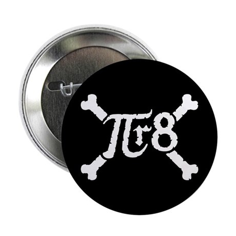 """Pi-r-8 2.25"""" Button (10 pack)"""