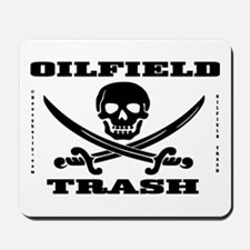Oil Field Trash,Skull Mousepad