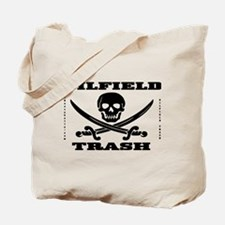 Oil Field Trash,Skull Tote Bag