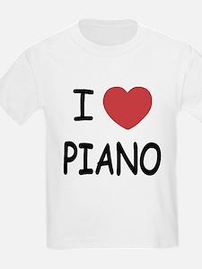 I heart piano T-Shirt