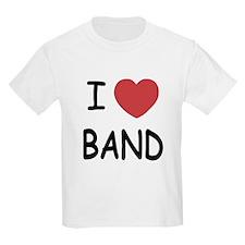 I heart band T-Shirt