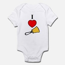 I Love Bells Infant Bodysuit