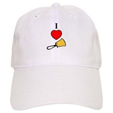 I Love Bells Baseball Cap