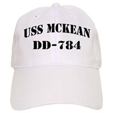 USS McKEAN Baseball Cap
