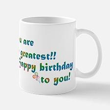 Cute Happy birthday faith Mug