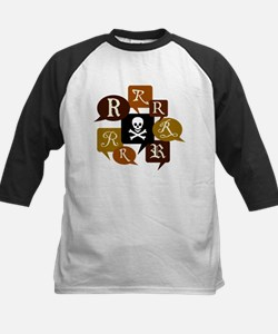 Talk Like a Pirate Kids Baseball Jersey