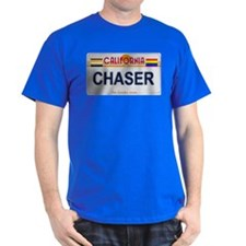 CHASER California License Plate Color T-Shirt