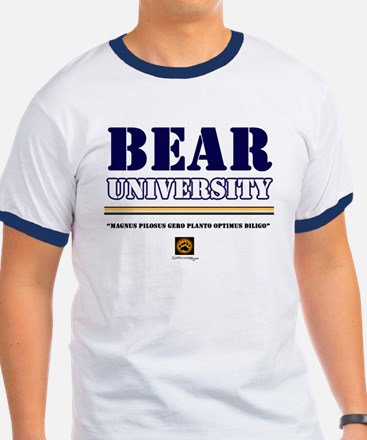Bear University Motto Rimmed T-Shirt