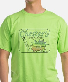 Chester's Candy Shoppe Lime T-Shirt