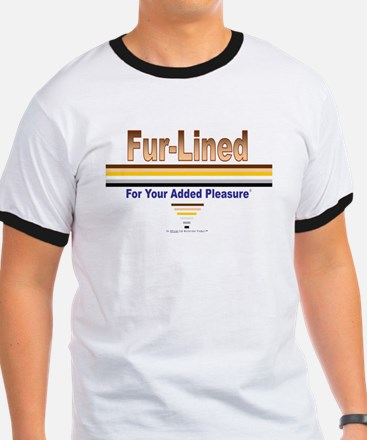 Fur-Lined (For Your Added Pleasure) Rimmed T-Shirt