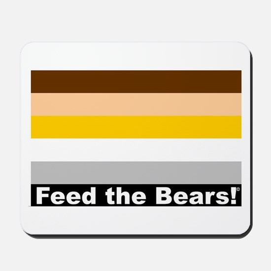 Feed the Bears Mousepad