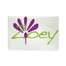 Zoey Rectangle Magnet