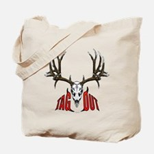 Mule deer tag out Tote Bag