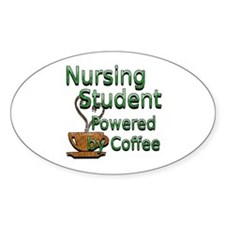 coffee nursing student Decal