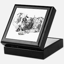 Great Dane Inseparable Keepsake Box