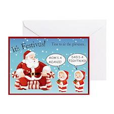 """Festivus """"Airing Grievances"""" Cards (Pk o"""