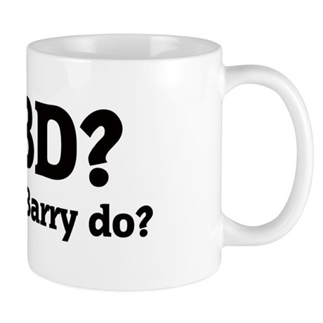 What would Barry do? Mug