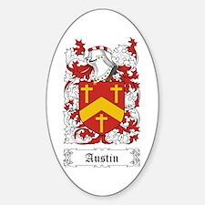 Austin Sticker (Oval)