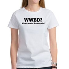 What would Barney do? Tee