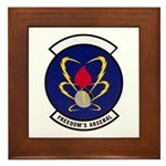 18th Munitions Squadron Framed Tile