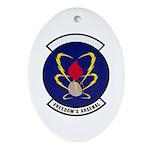 18th Munitions Squadron Oval Ornament