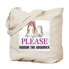 Humor the Groomer Tote Bag