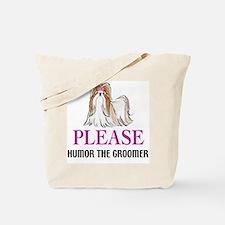Humor the Groomer Tote Bag