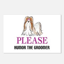 Humor the Groomer Postcards (Package of 8)